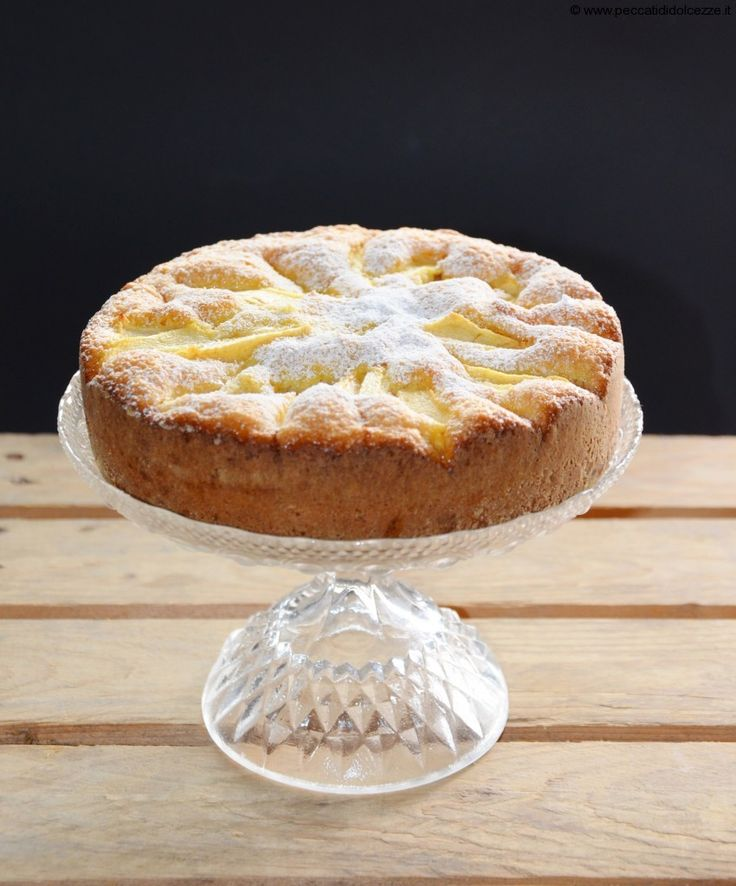 Torta rustica alle mele e all'olio extravergine di oliva: da leccarsi i baffi! #slurp #torta #mele #olio