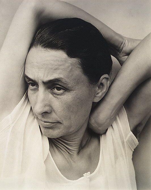 Georgia O'Keeffe.  Alfred Stieglitz