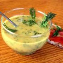 Sweet Dill Mustard Sauce: Ikea knockoff (with smoked salmon???)