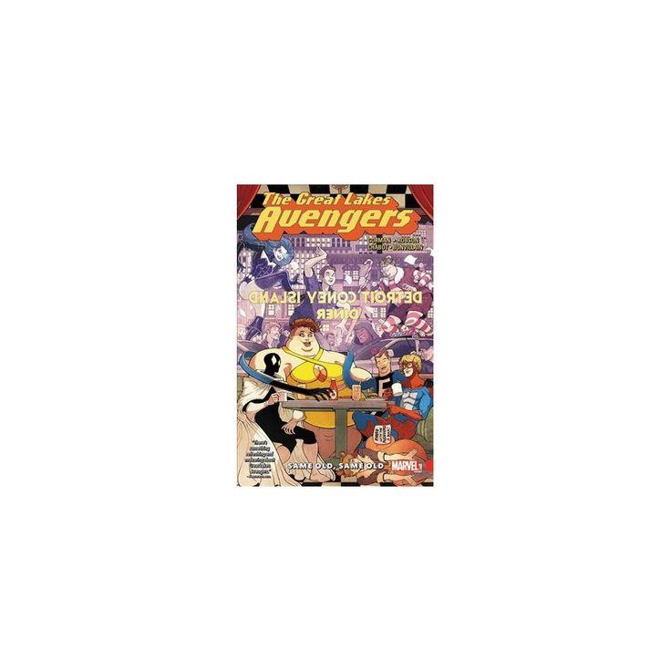 Great Lakes Avengers 1 : Same Old, Same Oid (Paperback) (Zac Gorman)