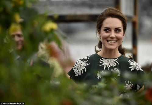 Герцогиня Кэтрин и выставка цветов в Челси 22 мая 2017 года: Группа В некотором царстве-государстве...