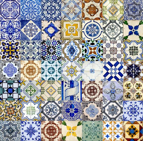 Love theses. It would be a great mosiac tile backsplash!