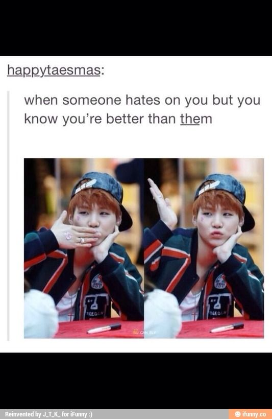 suga is better than all of you #kpop