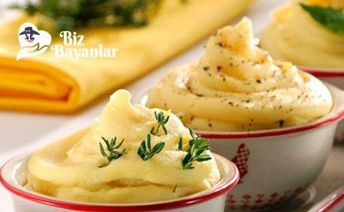 Patates Püresi Tarifi Bizbayanlar.com  #Karabiber, #Patates, #Süt, #Tereyağ,#MezeTarifleri http://bizbayanlar.com/yemek-tarifleri/salata-meze-kanepe/meze-tarifleri/patates-puresi-tarifi/