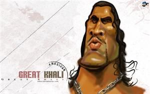 The Great Khali WWE Caricature HD Wallpaper #55. Wallpapers Also available in 800x600,1024x768 screen resolutions.