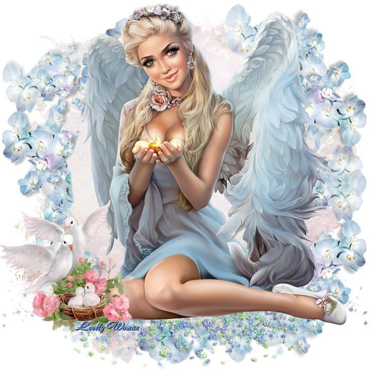 Картинки по запросу ангел картинка   Картинки, Ангел, Розы