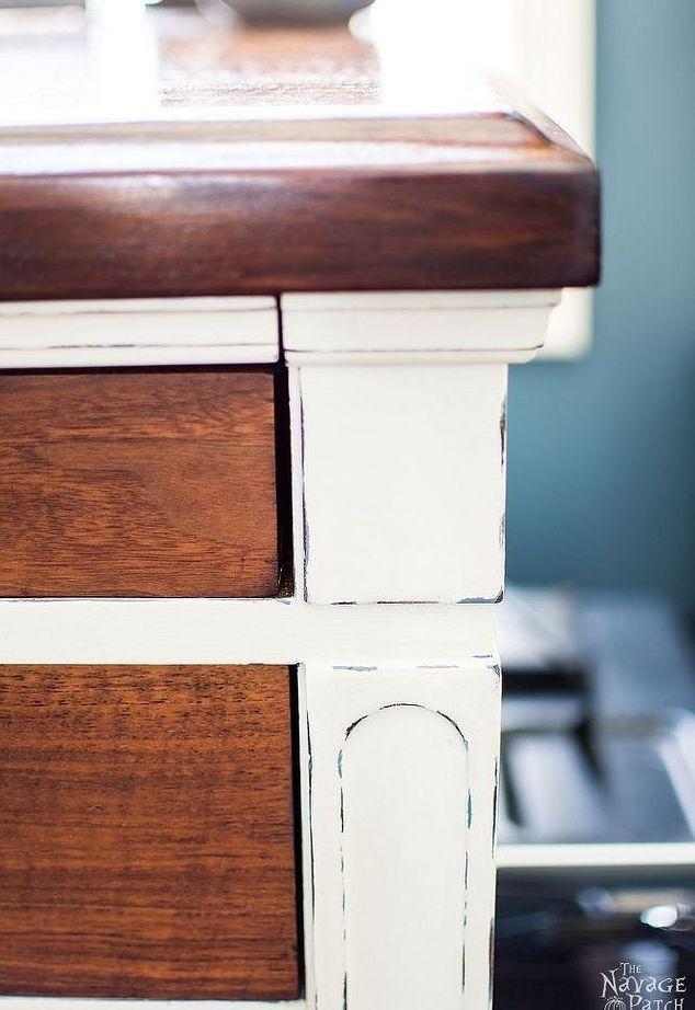 Vintage Schreibtisch Verjüngungskur, Kreide malen, Home-Office, bemalte Möbel, Repurposing Upcycling