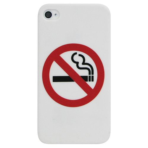 Exian iPhone 4/4s Hard Shell Case (4G044SP) - White                         - Web Only
