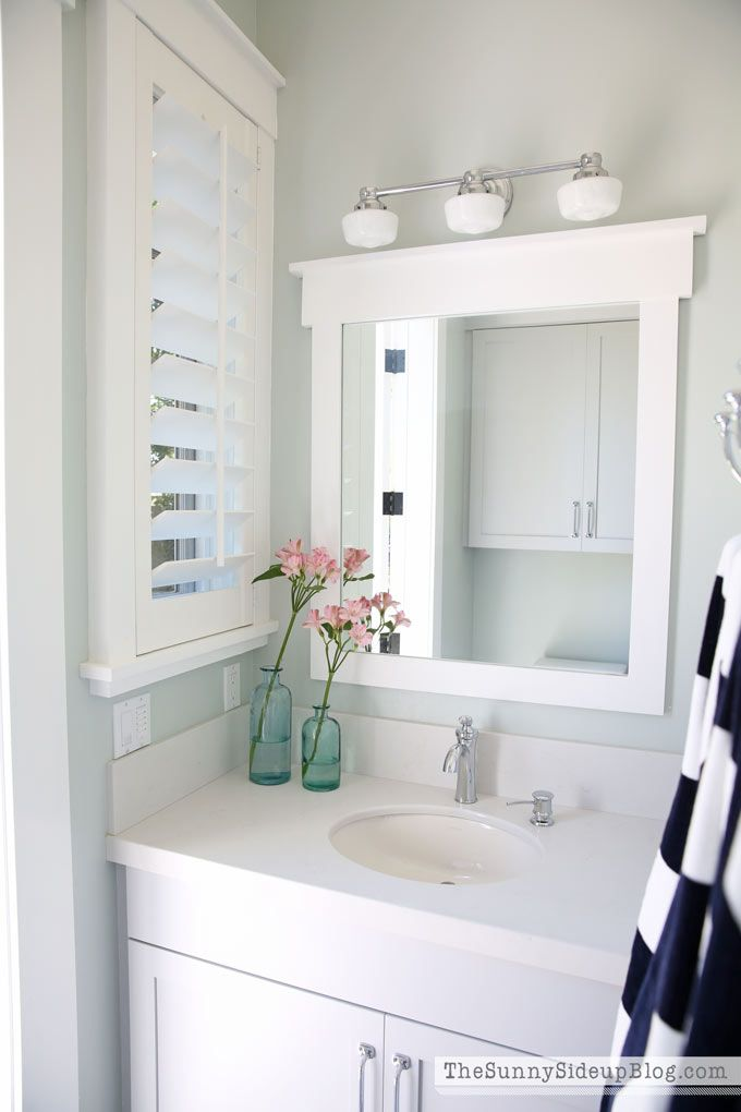 Come And Take A Tour Of Our Outdoor Pool Bathroom! We Added Simple Features  That