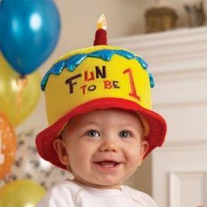 1st birthday hat: 1St Birthday Hats, Birthday Boys, Birthday Parties, First Birthday, Parties Ideas, Baby, Fun, 1St Birthdays, Birthday Ideas