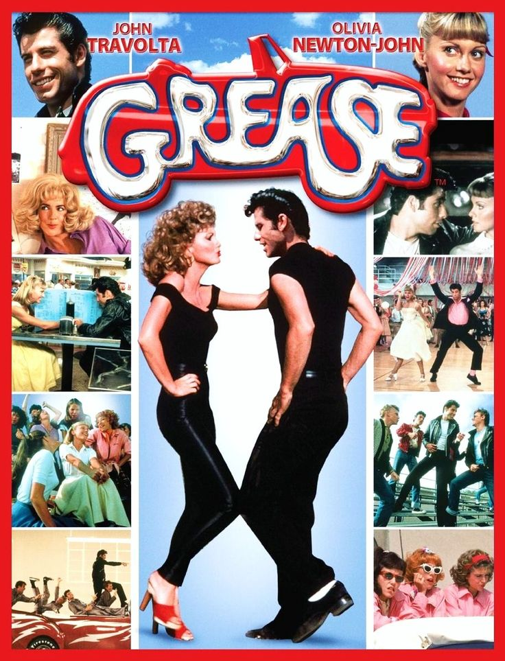 Grease (1978) DVD Cover -  Director: Randal Kleiser. Cast: John Travolta, Olivia Newton-John, Stockard Channing. ( watch full movie online video streaming ).
