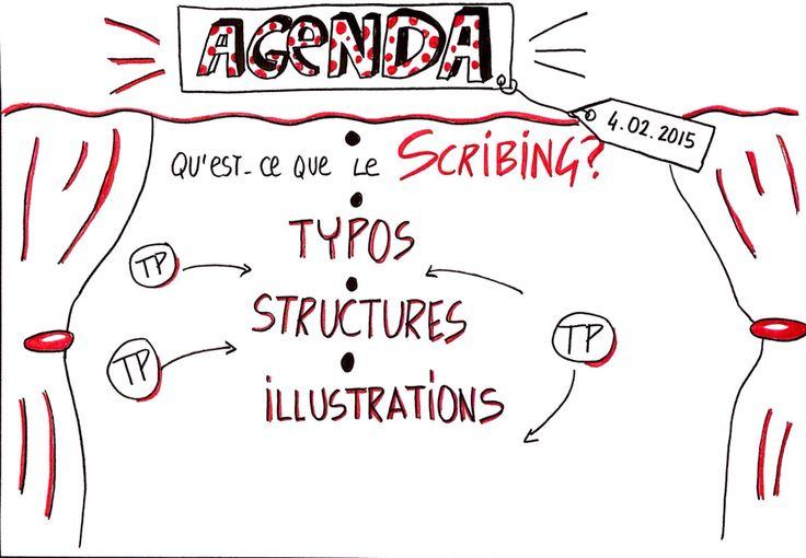 Une manière différente de présenter ses agendas de présentations
