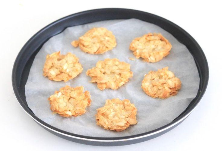 gebakken amandelkoekjes - Chickslovelittleones.com