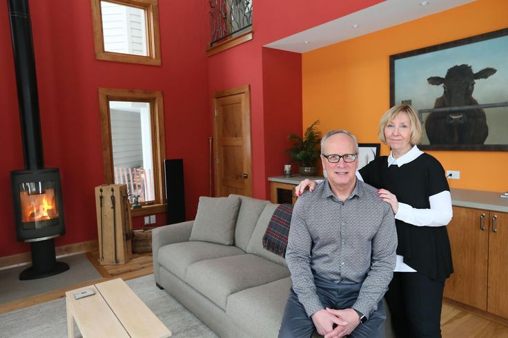 Greg and Sandy Groth liked the idea of having a second home; however, the thought of driving up north didn't appeal to them. So they had a cottage built on their one-acre property.