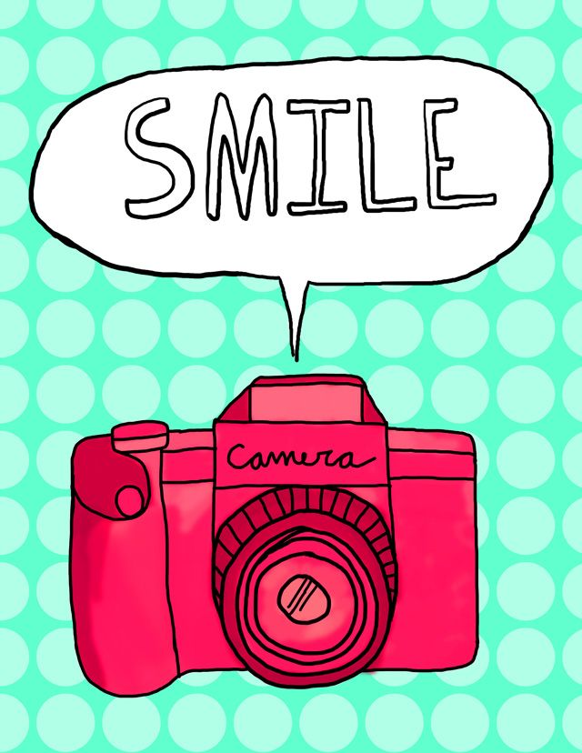 Free Camera Printable for a photo booth corner, maybe?