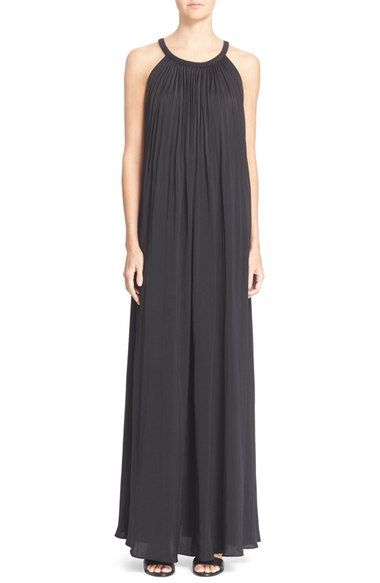 Vince 'Sunburst' Pleated Maxi Dress available at #Nordstrom
