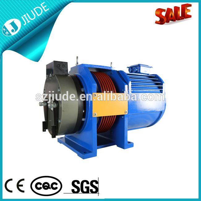 220V 5.4kw Gearless Elevator Traction Motor