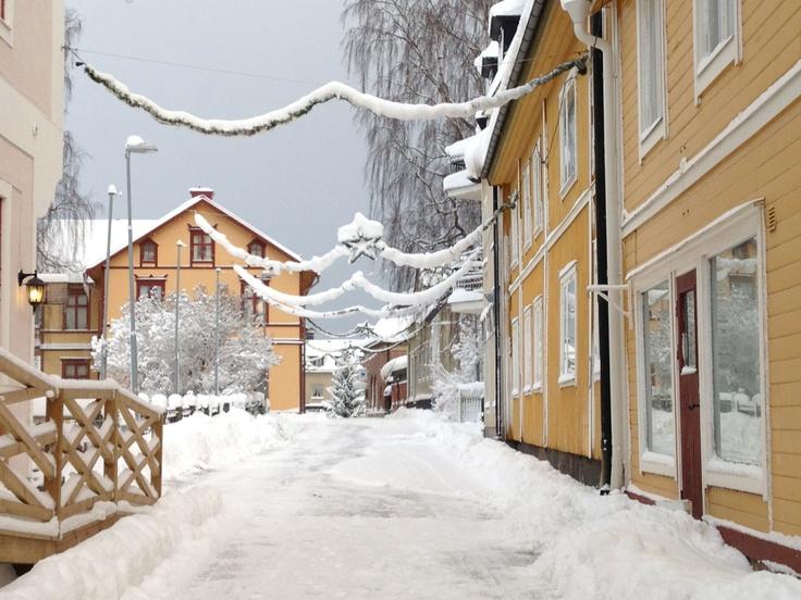 Winter in Östhammar
