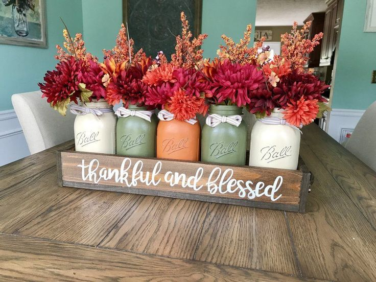 49 Unique Diy Farmhouse Thanksgiving Decorations Ideas