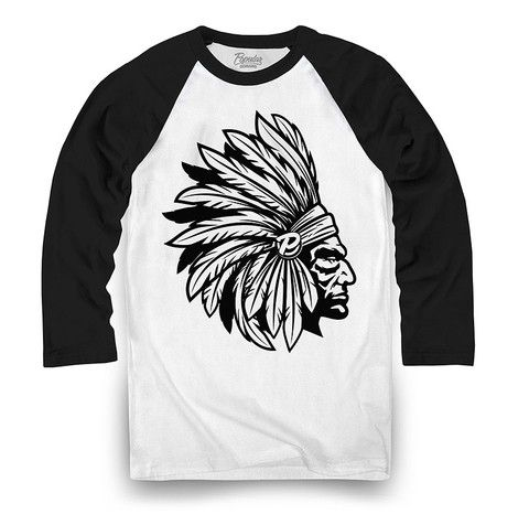 Chief Pro Tone Raglan / Black/White - Popular Demand