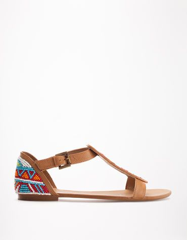 Bershka Turkey - BSK beaded sandals