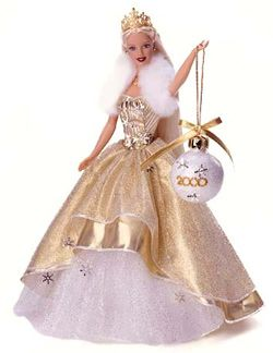 2000 Holiday Barbie                                                      I might have this Barbie, but I know I have the ornament!!