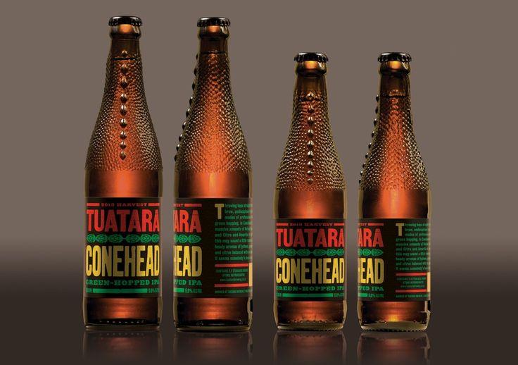 Best Awards - Anton Hart. / Tuatara bottles