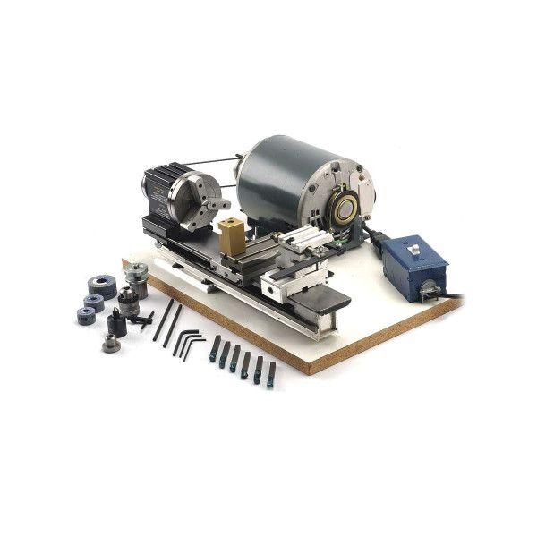 Отто Frei TAIG Micro Lathe II - полностью собранный и предварительно подключенный
