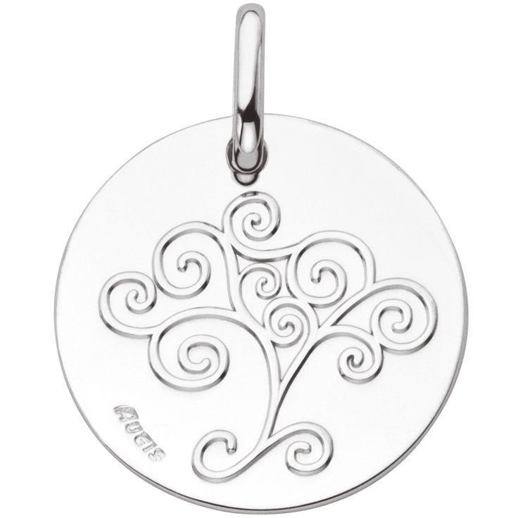 Cette médaille Arbre de vie de la marque A.Augis sera une belle idée de cadeau à offrir lors d'une naissance ou d'un baptême.