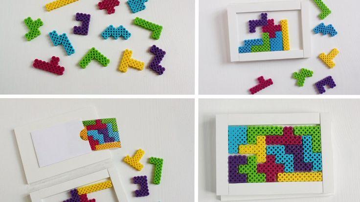 jeu puzzle perles a repasser