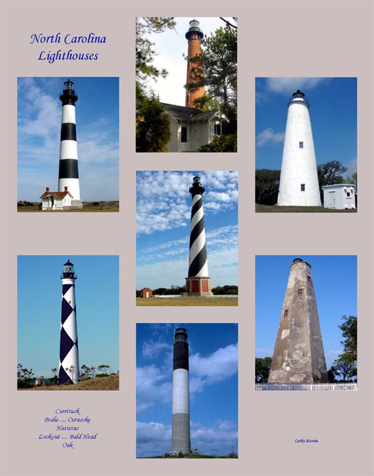 NC Lighthouses    http://www.ncwiseowl.org/carolinaclips/lighthouses/Homepage.html