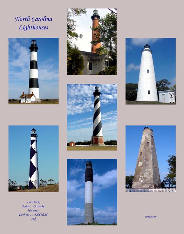 NC Lighthouses  Lighthouses  Pinterest  North Carolina