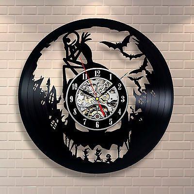 L-039-incubo-prima-di-Natale-Jack-Skellington-orologio-da-parete-in-vinile