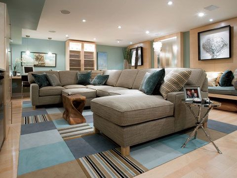 39 Best HGTV CANDICE OLSONS BEAUTIFUL BASEMENTS Images On