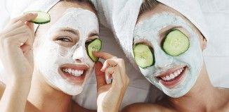 Yaşlanma karşıtı salatalık maskesi