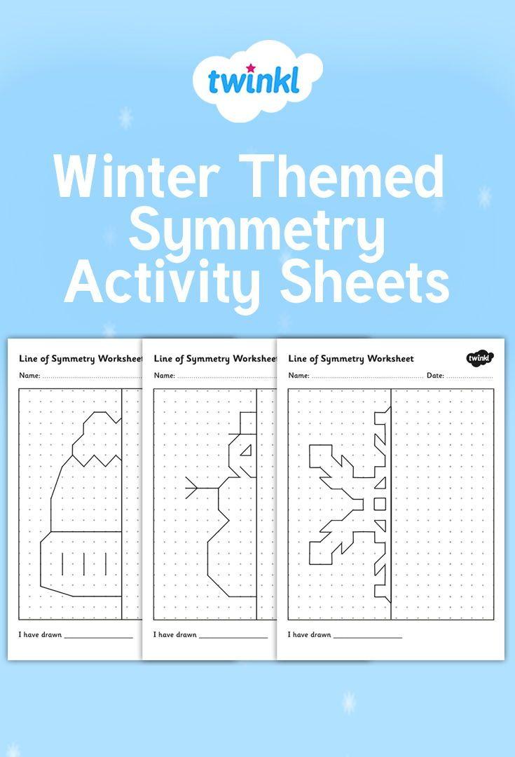 Winter Themed Symmetry Activity Sheets Symmetry Activities Symmetry Worksheets Symmetry Math [ 1080 x 735 Pixel ]