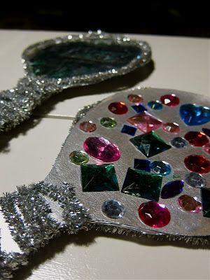 Beauty & the Beast Mirror Craft