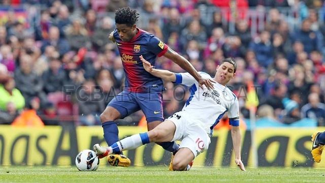 Alex Song, FC Barcelona | 2013-02-10 BARCELONA 6-1 GETAFE.