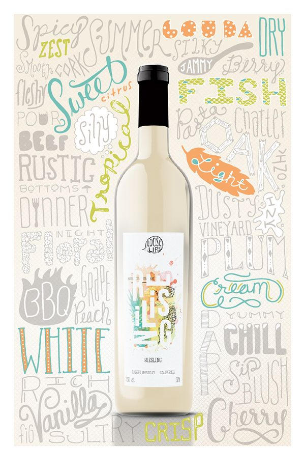 Wine Typography Poster on Behance