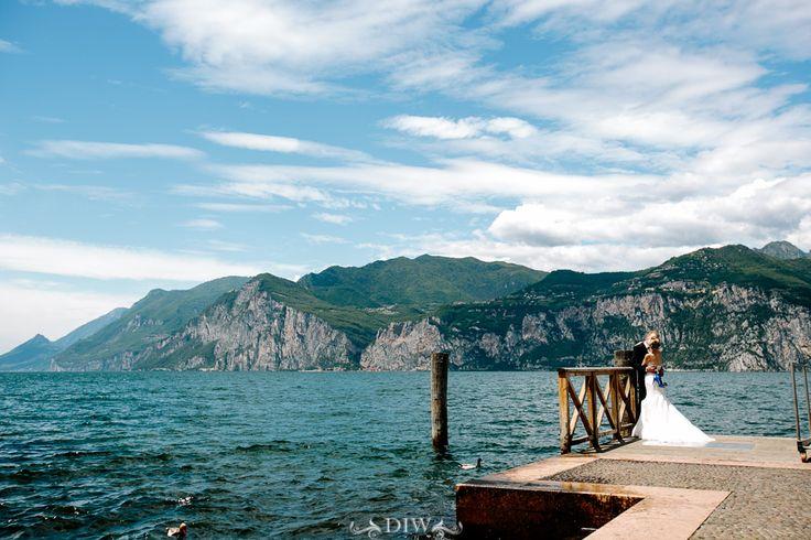 Lake Garda Wedding in Malcesine Castle - Jan and Mike   Distinctive Italy Weddings by Alessandro Ghedina
