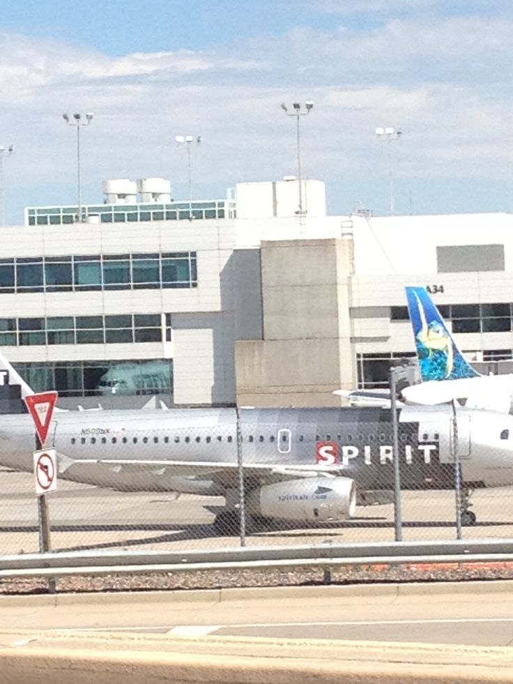 Spirit Airlines A320 at KDEN. Btw spirt is a terrible airline