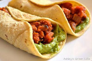 Ashley's Green Life: My Vegan Pregnancy Diet- sweet potato burritos