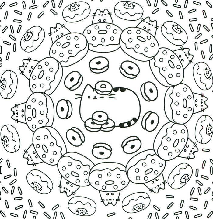 kawaii malvorlagen zum ausdrucken  pusheen coloring pages