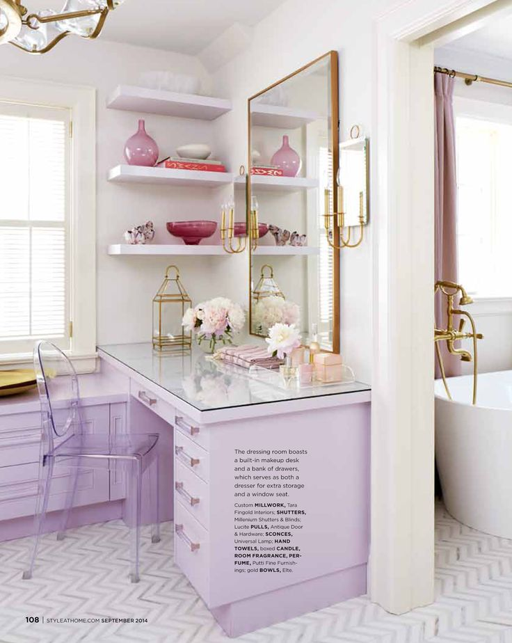 styleathome highgloss lavender master suite by designer tara fingold zigzag floor photo virginia macdonald