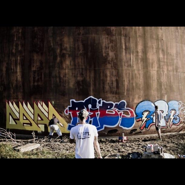 RGB in Alabama // Graffiti & Alabama's Lobster / 2 - @insta_monk- #webstagram