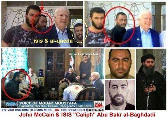 Ak americká armáda robí všetko pre dolapenie vodcov ISIL, tak prečo ich US senátor John McCain všetkých nedal nezatknúť, keď sa s nimi stretol?