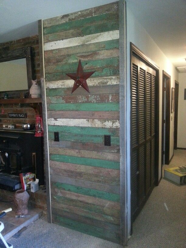 100 Yr Old Reclaimed Tongue And Groove Slats For Accent