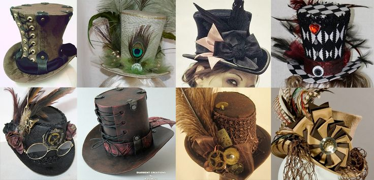 Love these hats! Plus it shows how to make your own with simple materials