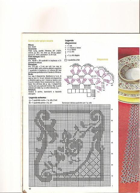 Italian SCHEMI FILET Magazine #7 November / December 2013 Patterns CROCHET @NEW@