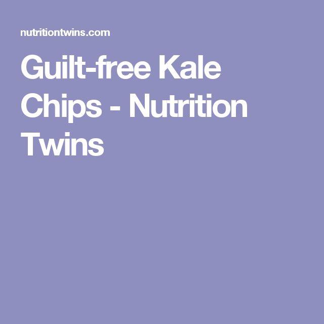 Guilt-free Kale Chips - Nutrition Twins